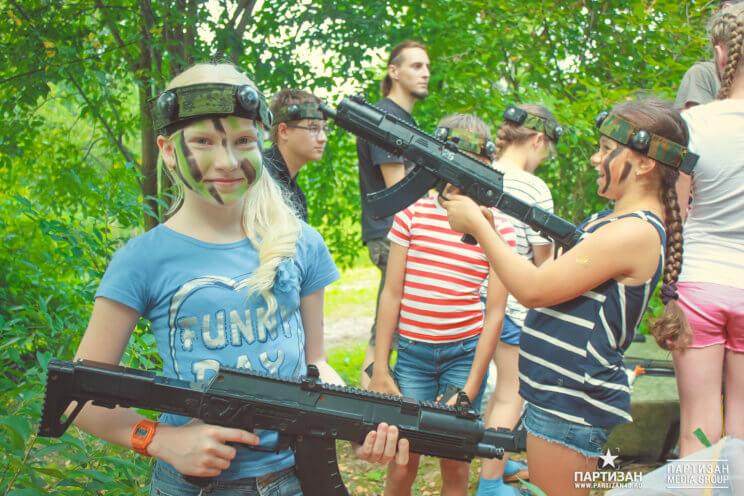 Детский праздник в клубе Партизан Калуга