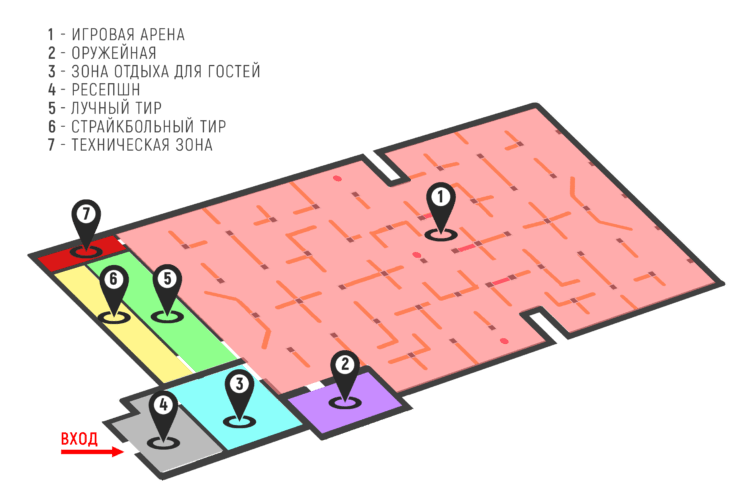 План схема полигона