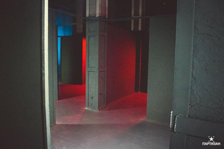 Лазертаг на Партизан Арене